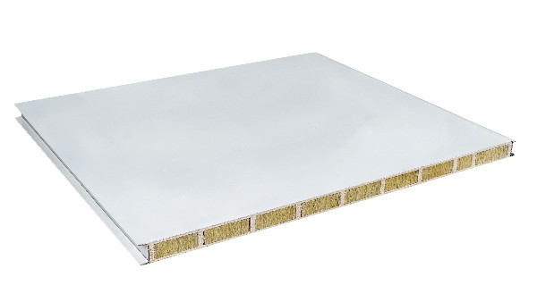 10公分玻镁岩棉夹芯板实测耐火时长3小时