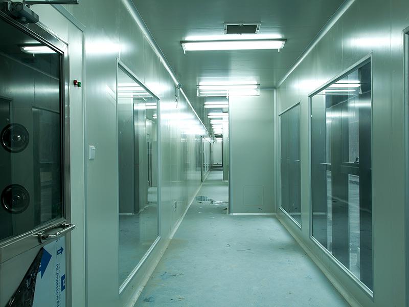 联合冠业洁净室净化板生物制药解决方案