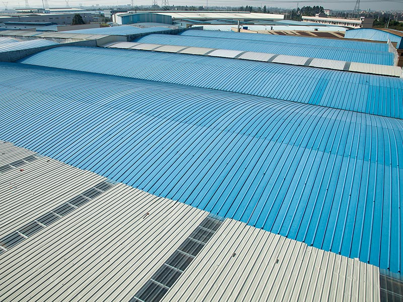 联合冠业钢结构彩钢板钢结构解决方案