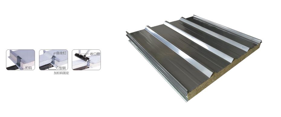 不锈钢夹芯瓦产品介绍
